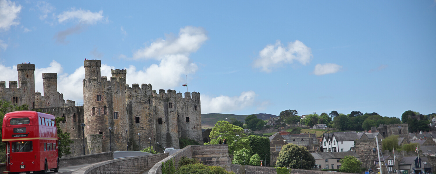 In the heart of Conwy